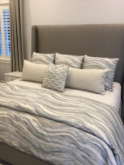 Custom Drapes, Beddings, Pillows & More.