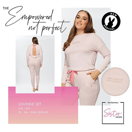 EMPOWERED NOT PERFECT LOUNGE SET