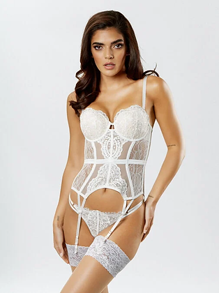 FIERCELY SEXY BASQUE - Ivory