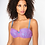 Thumbnail: SEXY LACE BALCONY BRA - Purple/Blue