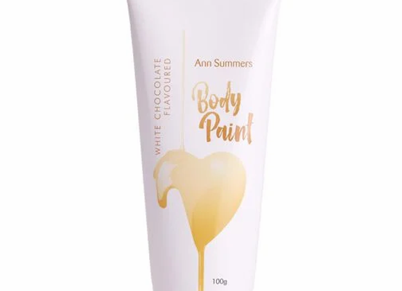 WHITE CHOCOLATE FLAVOURED BODY PAINT 100G