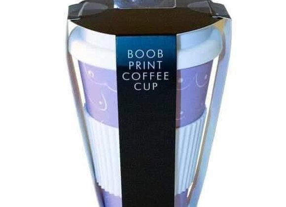 BOOB PRINT COFFEE CUP