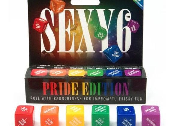 SEXY 6 PRIDE EDITION DICE