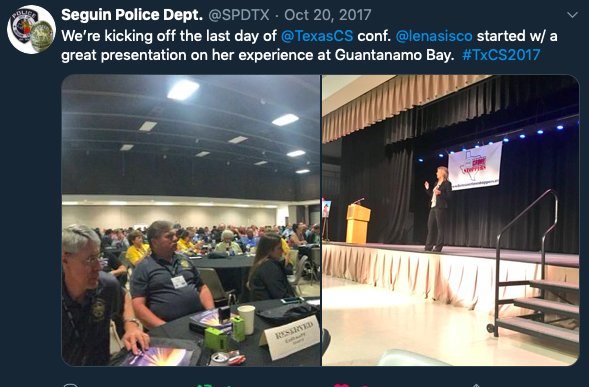 Texas Crime Stoppers Speaker