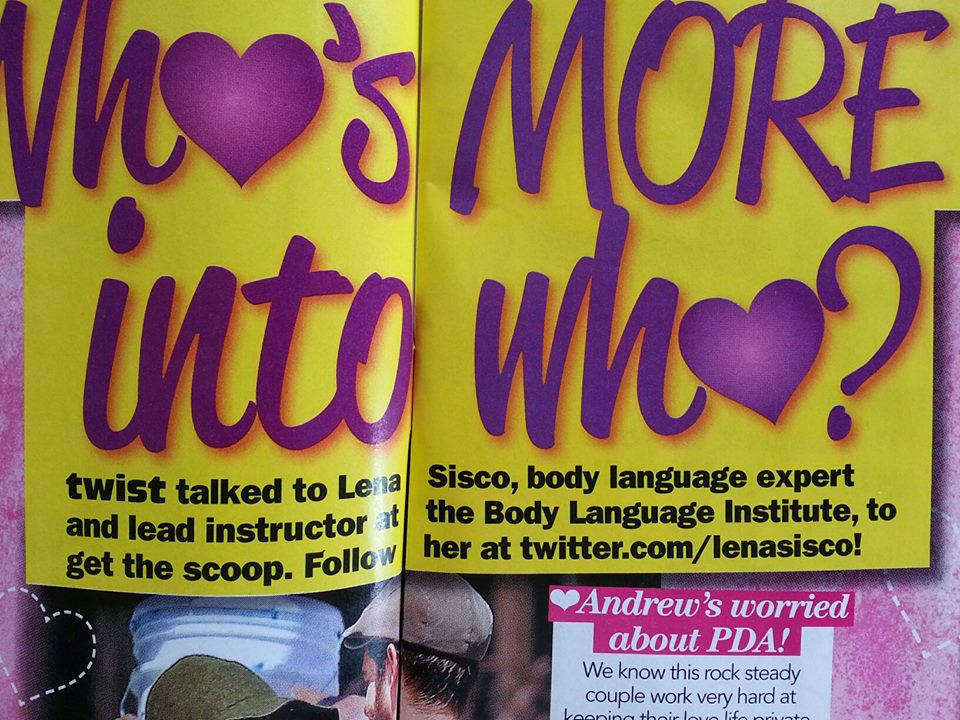 Lena quoted in Twist Magazine