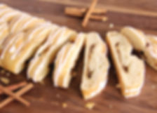 Cinnamon Butter Braid pastry fundaiser