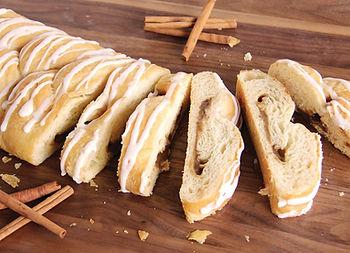 Cinnamon Butter Braid pastry fundaiser