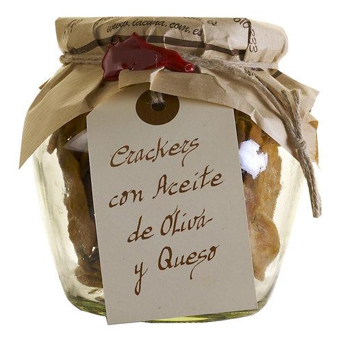 Crackers con Aceite de Oliva y Queso La Cuna