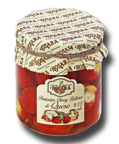Pimiento Cherry Rellenos de Queso. La Rosara