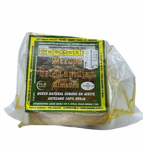 CUÑA de Queso Curado en Aceite 100% Oveja