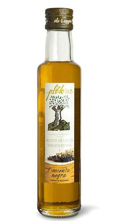 Aceite de Oliva Virgen Extra y Pimienta Negra