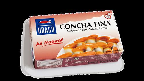 Concha Fina al natural. Ubago