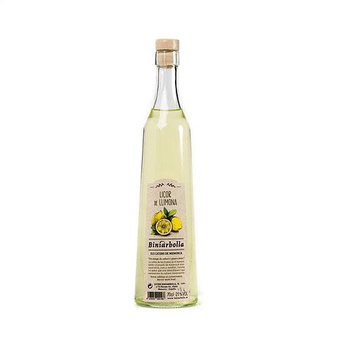 Licor de limón Biniarbolla