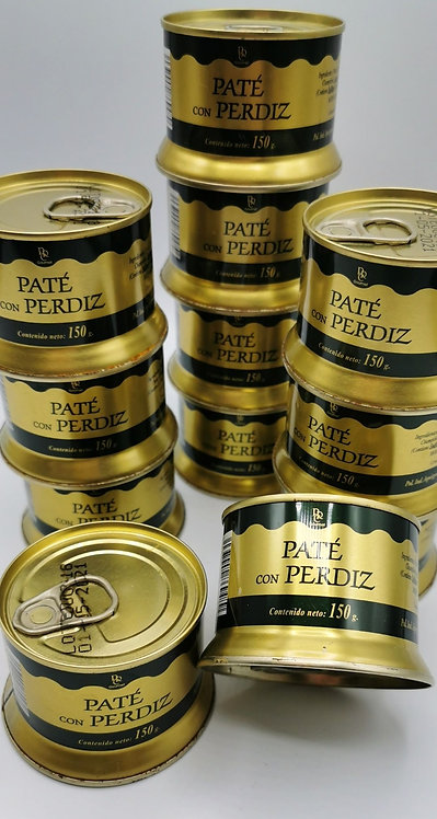 Pate con Perdiz. Gourmet