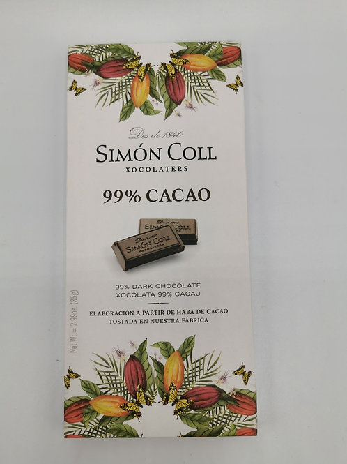 Simón Coll 99% Cacao