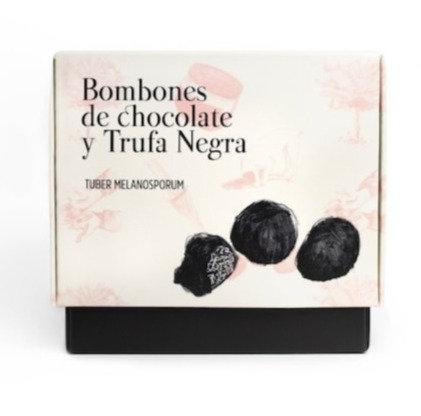 Bombones de Chocolate y Trufa Negra