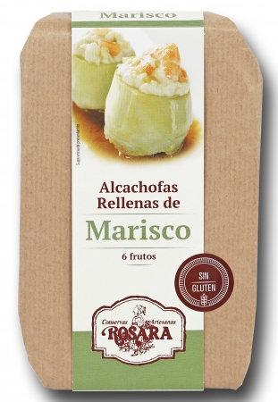 ALCACHOFAS RELLENAS DE MARISCO