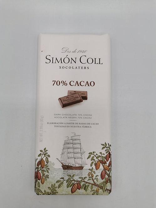 Simón Coll 70% Cacao