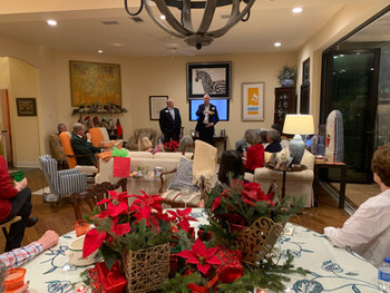 Christmas party in Houston