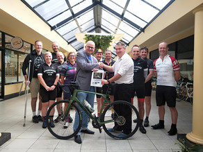 Blue Mountains Mayor and Springwood Cycling Club get behind the River to Mountains cycling network.