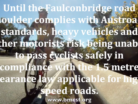 Vulnerable road users, motorists and professional drivers all require a safe and Austroads compliant