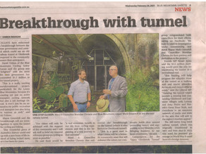 NSW Government Announces $1.5M - to start planning studies for repurposing Glenbrook Tunnel