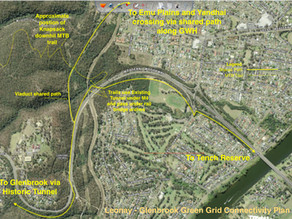 BMCSF Raises concerns that Leonay route is the missing link in Penrith Council's Green Grid Strategy