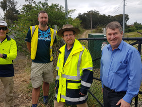 TfNSW to explore work around options for Highway shoulders at Faulconbridge