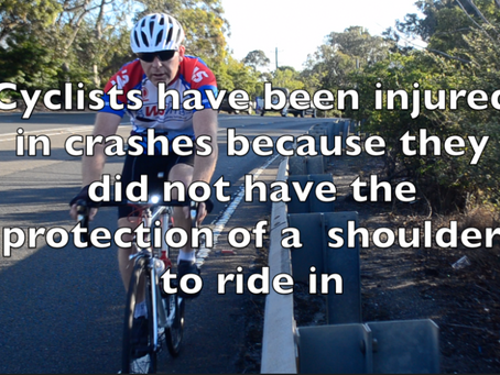 Cyclists have been Injured in crashes already on the GWH at Faulconbridge