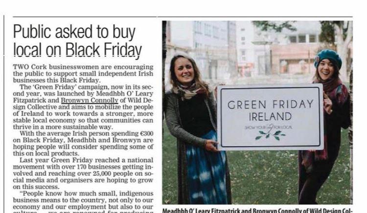 Evening Echo Green Friday