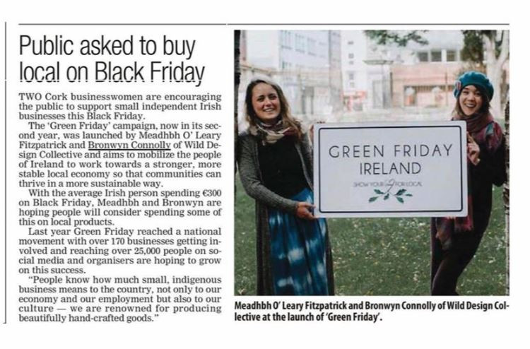Evening Echo Green Friday