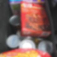 food bank groceries