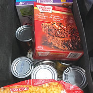 food bank groceries
