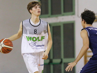 Prima vittoria per il Wolf Basket