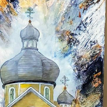 Alberta Skies St. Vladimir Ukrainian Orthodox Church
