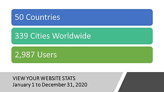 Website Reporting January 1, to December