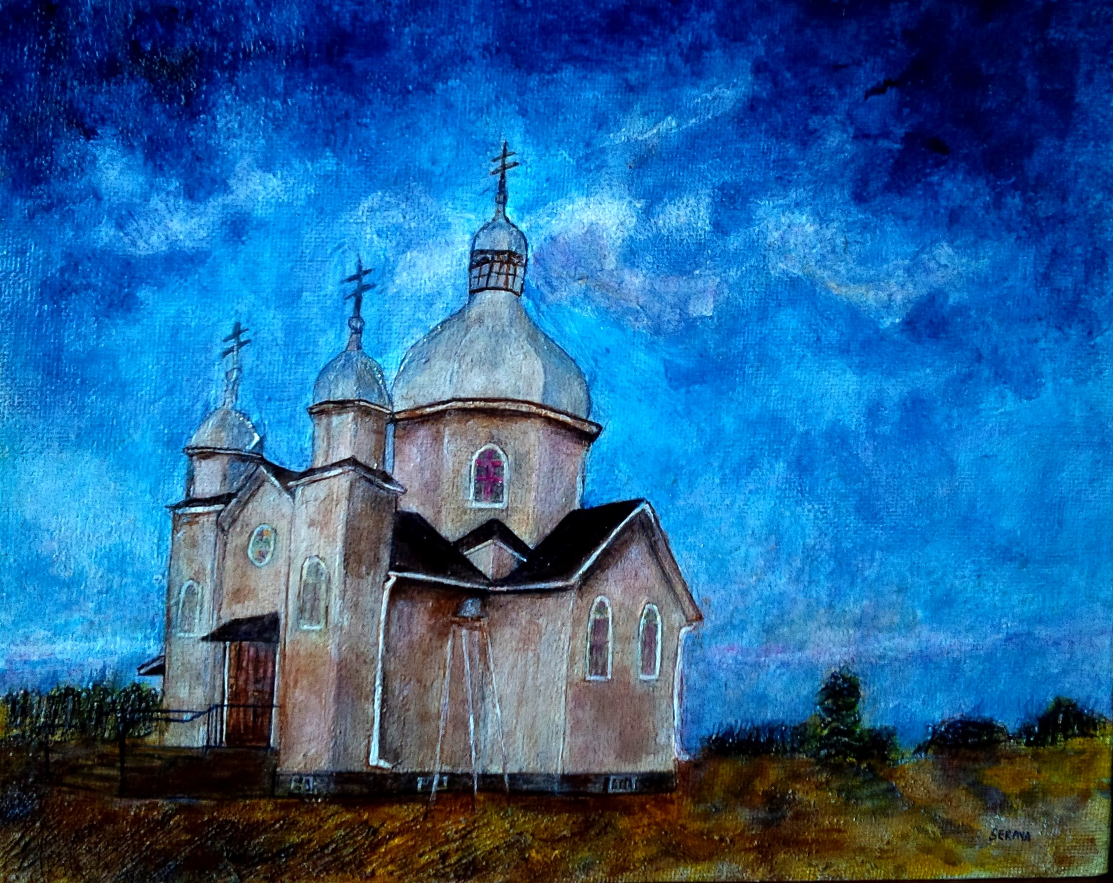 St Peter and Paul Orthodox Church8x10