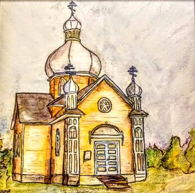 St Vladmir Church Ukrainian Cultural Heritage Village