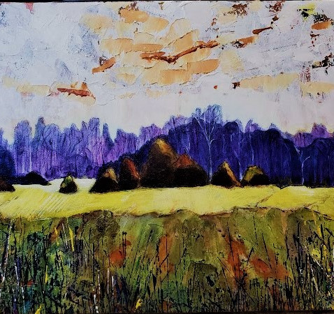 Alberta Skies Landscape Study