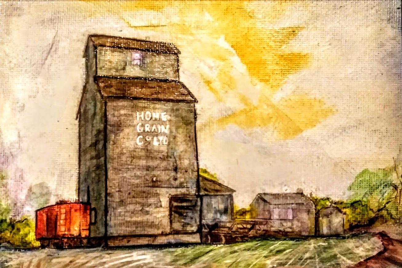 Ukrainian Village Grain Elevatoredited.