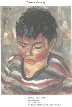 Manarey, Thelma artwork image c. 1954