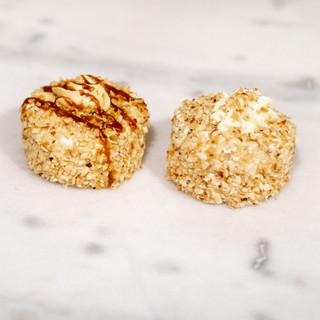Hazelnoot schuimgebak karamel