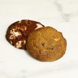 Red velvet of Brownie cookie
