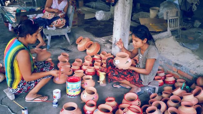 Pot Painting (Dawei City Tour)
