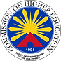 commission on higher education logo
