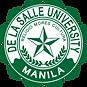 de la salle university logo