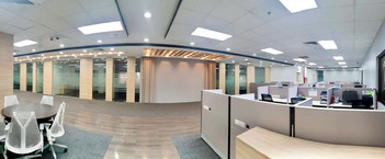 Finished project for office fit out.