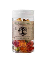 Your Bliss CBD Gummy Bears infused with CBD Oil
