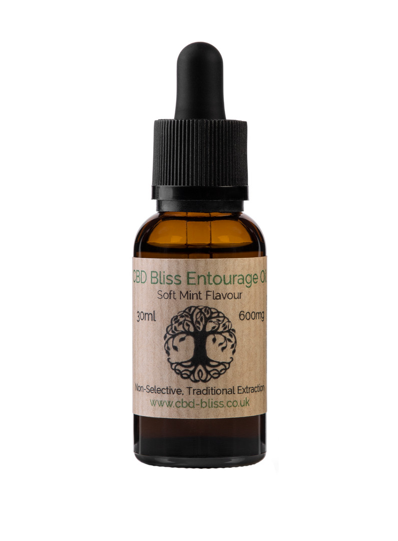 Your Bliss Soft Mint Entourage 30ml-600mg