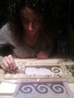 Laboratorio di mosaico